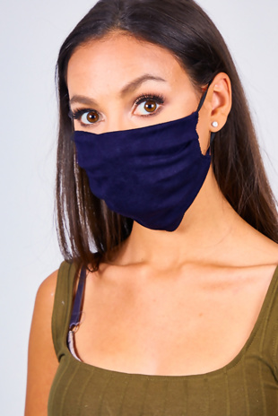 Navy Re-Usable Anti Dust Hygiene Face Mask