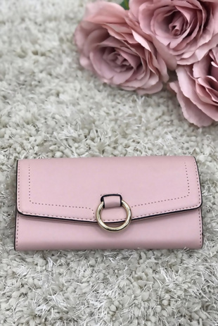 Rose Buckle Purse