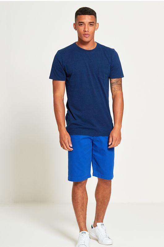 Basic Denim Pocket T-Shirt