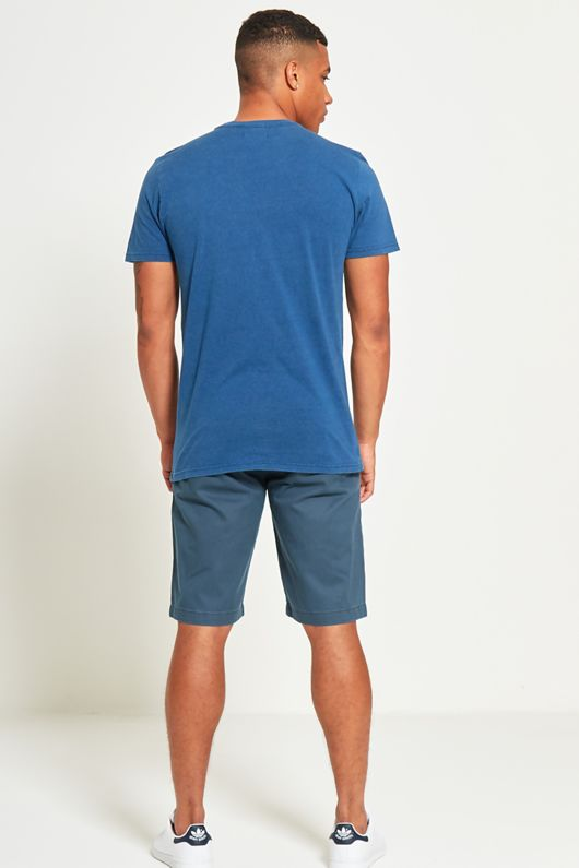 Basic Denim Pocket T-Shirt