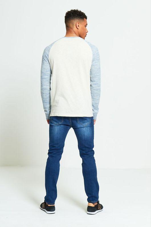 Space Dye Raglan T-Shirt