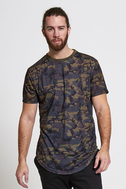 Fish Tail Camo T-Shirt