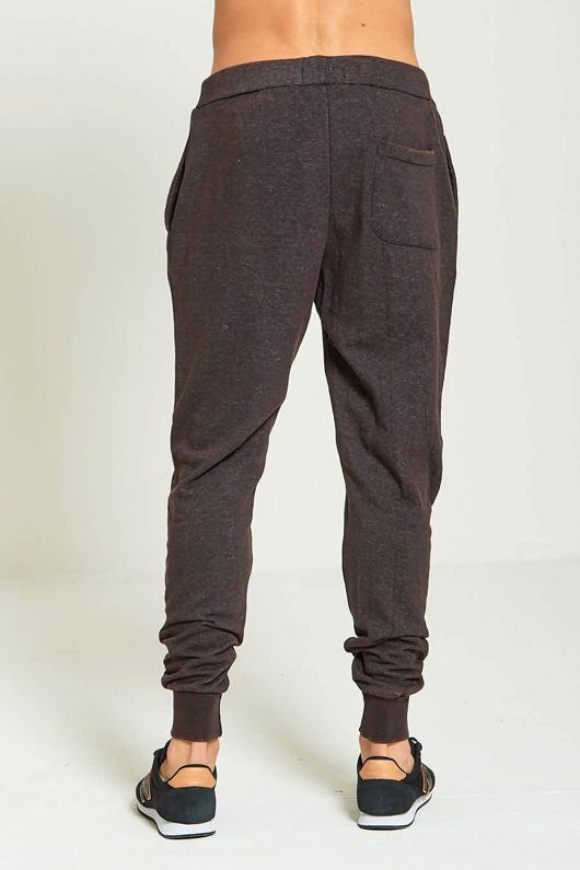 Charcoal Mens Brave Soul Faded Jogging Bottoms