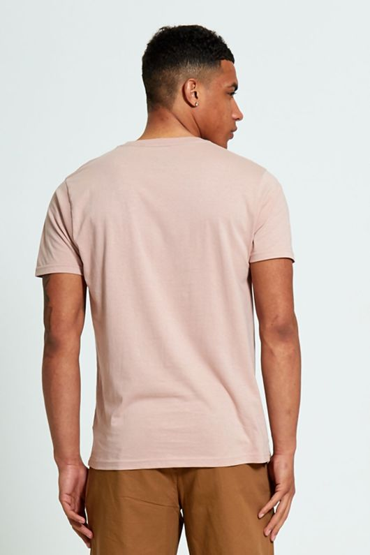 Pink Zip Pocket T-Shirt