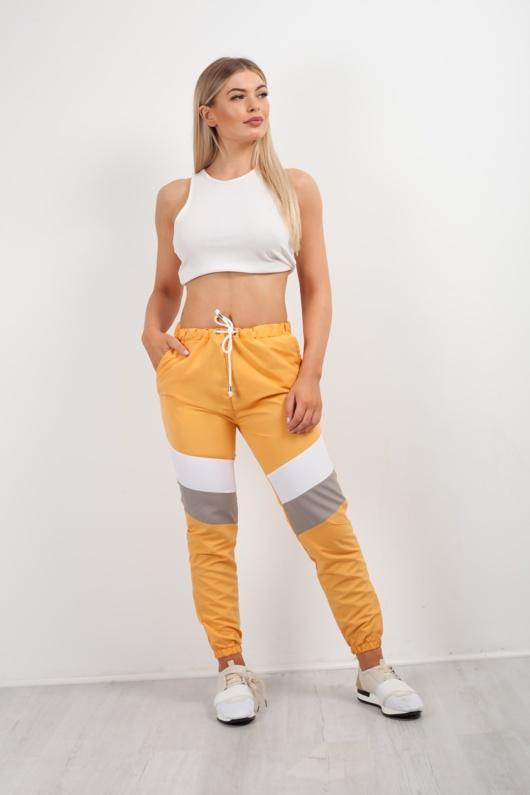 Mustard Colour Block Jogger