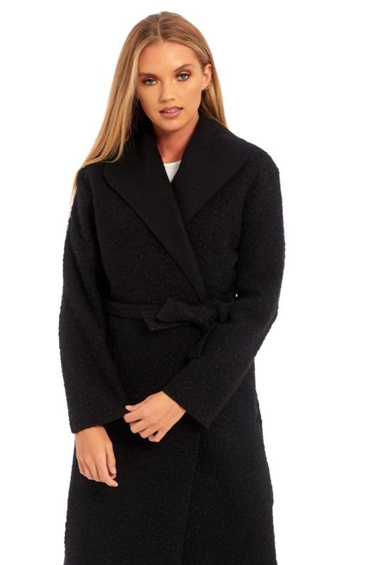 Long Belted Teddy Coat