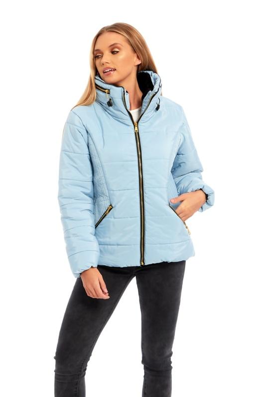 aqua high neck padded puffer jacket