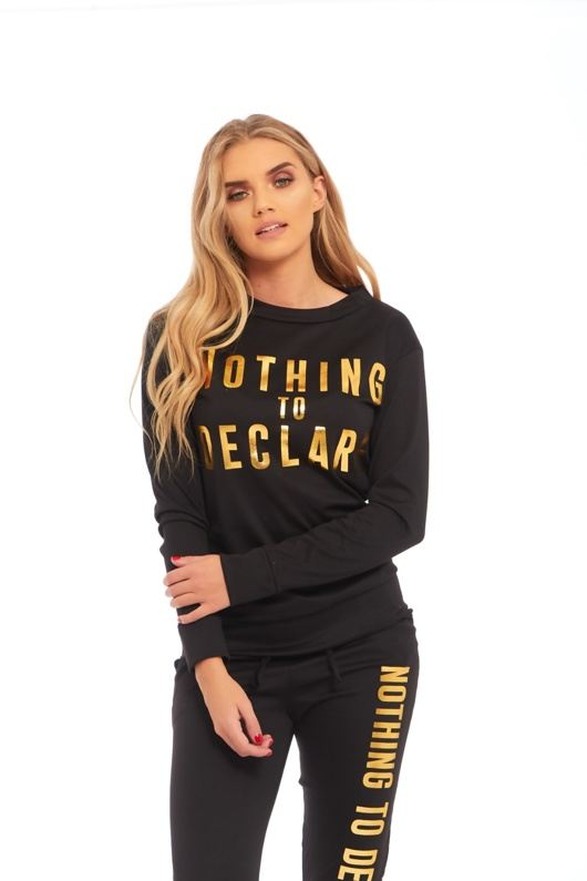 Black Nothing To Declare Loungewear