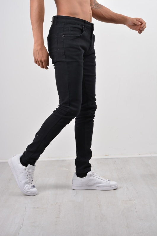 Mens Black Slim Fit Denim Jeans