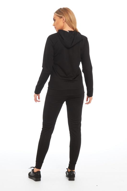 Black California Loungewear Set