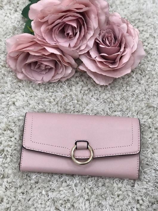 Rose Buckle Purse