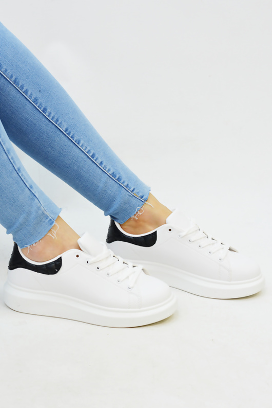 Black Chunky Oversized Trainers