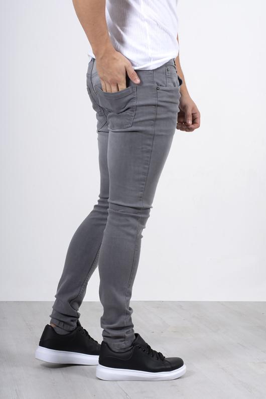 Mens grey skinny jeans