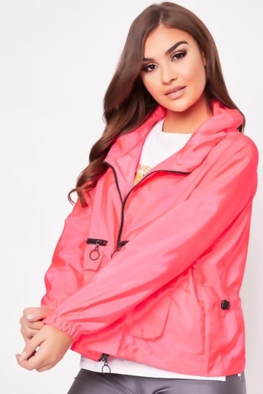 Neon Pink Festival Jacket